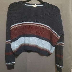 Fall themed knit sweater